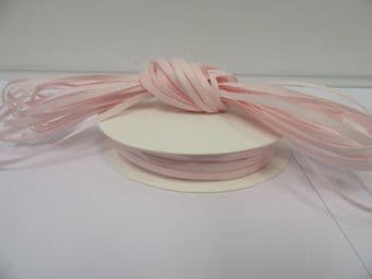 Baby Light Pink Grosgrain ribbon Ribbed Double sided, 3mm, 6mm 10mm 16mm 22mm 38mm 50mm